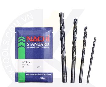 Mũi khoan Nachi List 500 F9.0 to F18.0