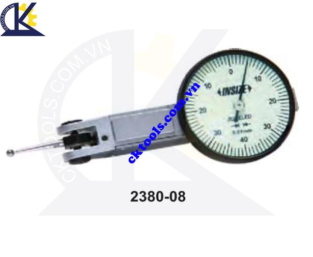 Đồng hồ so chân gập  INSIZE  2380-08  ,    DIAL TEST  INDICATORS    2380-08