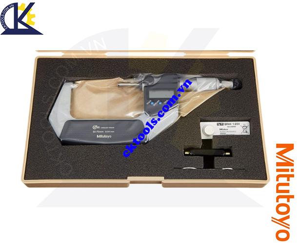 Panme Mitutoyo 50-75mm/0.001mm, Panme đo ngoài Mitutoyo 50-75mm/0.001mm, Panme điện tử Mitutoyo 50-75mm/0.001mm, Panme đo ngoài điện tử Mitutoyo 293-242-30 50-75mm/0.001mm(SPC)