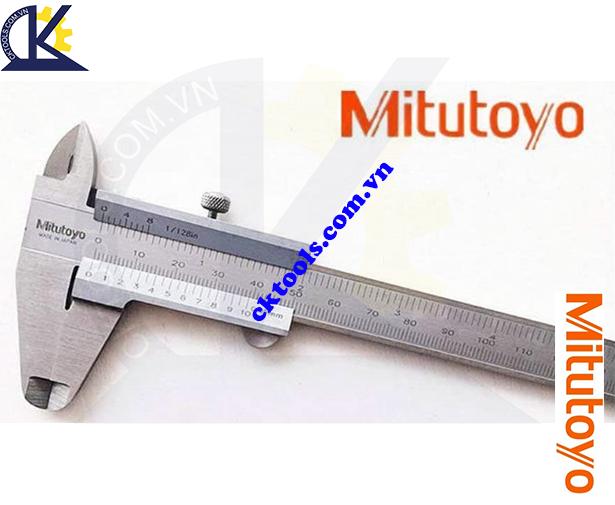 Thước cặp cơ khí Mitutoyo 0-100mm/0.05mm 530-100, Thước cặp Mitutoyo 0-100mm/0.05mm, Thước kẹp cơ khí Mitutoyo 0-100mm/0.05mm, Thước Mitutoyo 0-100mm/0.05mm