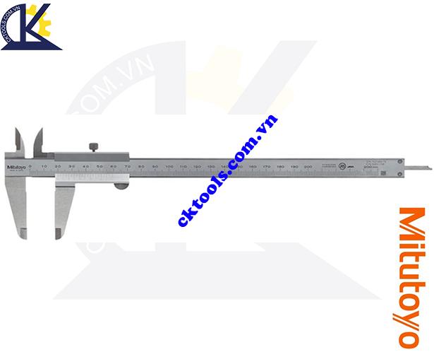 Thước cặp cơ khí Mitutoyo 0-200mm/0.05mm 530-108, Thước cặp Mitutoyo 0-200mm/0.05mm, Thước kẹp cơ khí Mitutoyo 0-200mm/0.05mm, Thước Mitutoyo 0-200mm/0.05mm