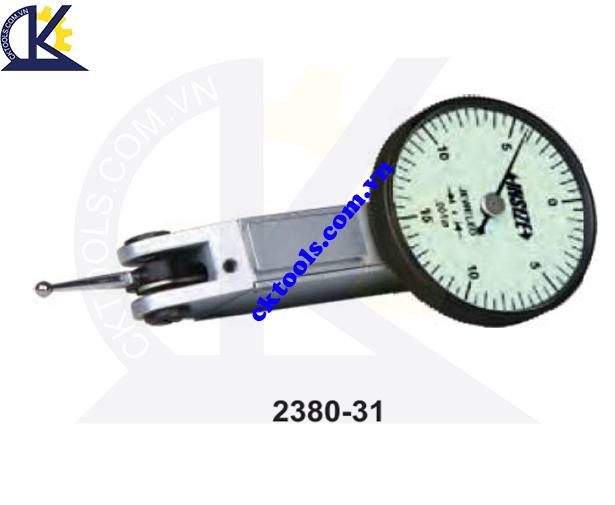 Đồng hồ so chân gập  INSIZE    2380-31  ,    INCH DIAL TEST  INDICATORS    2380-31