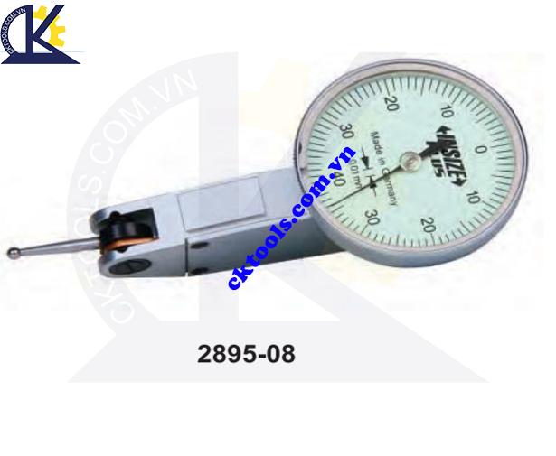 Đồng hồ so chân gập  INSIZE  2895-08 ,  DIAL TEST  INDICATOR    2895-08