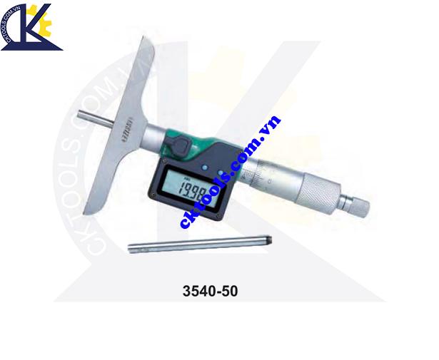 Panme đo sâu điện tử  INSIZE  3540-50  ,   DIGITAL  DEPTH MICROMETERS  3540-50