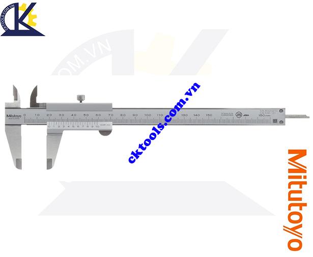 Thước cặp cơ khí Mitutoyo 0-150mm/0.05mm 530-101, Thước cặp Mitutoyo 0-150mm/0.05mm, Thước kẹp cơ khí Mitutoyo 0-150mm/0.05mm, Thước Mitutoyo 0-150mm/0.05mm