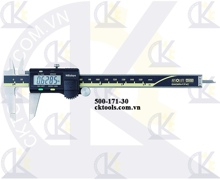 Thước cặp điện tử 0-6''/0-150mm x 0.01mm-500-171-30