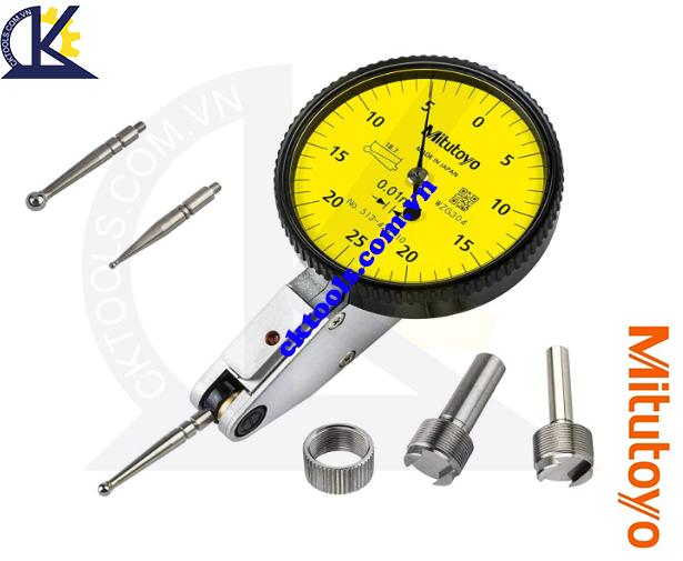Đồng hồ so chân gập 0.5mm/0.01mm Mitutoyo, Đồng hồ Mitutoyo 0.5mm/0.01mm 513-424-10E, Đồng hồ so chân gập Mitutoyo 0.5mm/0.01, Đồng hồ rà Mitutoyo 0.5mm/0.01mm