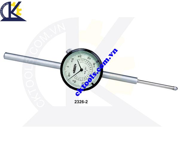 Đồng hồ so  INSIZE  2326-2 ,  INCH LONG STROKE  DIAL  INDICATORS    2326-2