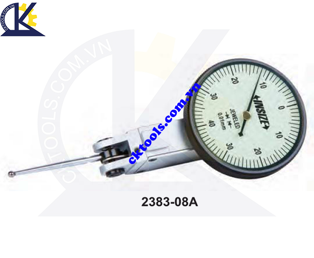 Đồng hồ so chân gập   INSIZE  2383-08A  ,  LONG STYLUS  DIAL  TEST  INDICATOR   2383-08A