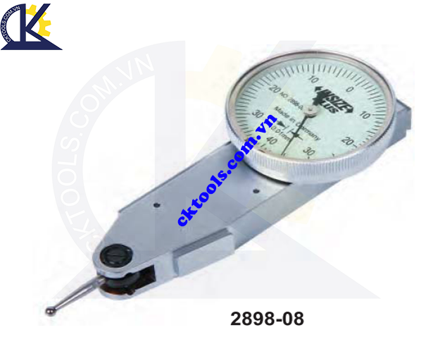 Đồng hồ so chân gập  INSIZE  2898-08  , SIDE  TYPE   DIAL TEST  INDICATOR    2898-08
