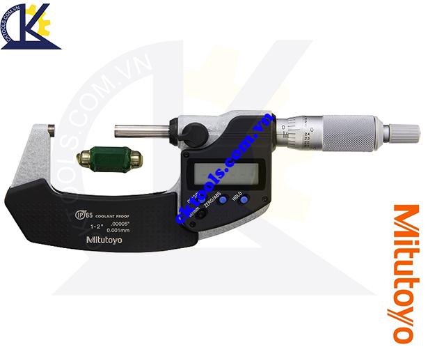 Panme Mitutoyo 1-2'/25-50mm/0.001mm, Panme đo ngoài Mitutoyo 1-2'/25-50mm/0.001mm, Panme điện tử Mitutoyo 1-2'/25-50mm/0.001mm, Panme đo ngoài điện tử Mitutoyo 293-341-30 1-2'/25-50mm/0.001mm