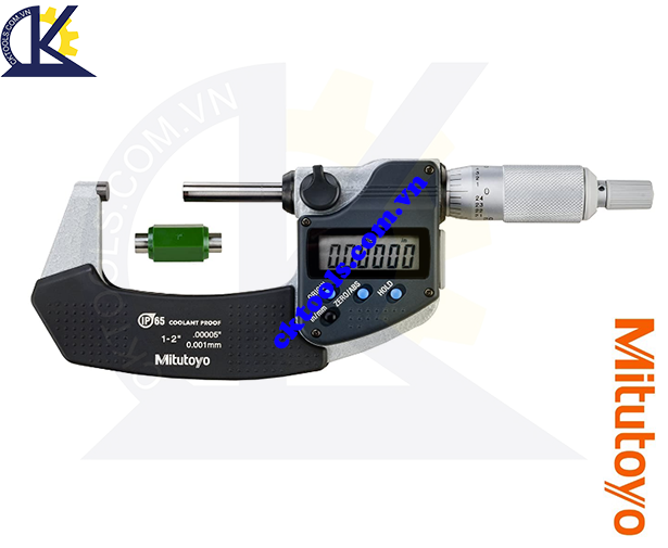 Panme Mitutoyo 0-2''/25-50mm/0.001mm, Panme đo ngoài Mitutoyo 0-2''/25-50mm/0.001mm, Panme điện tử Mitutoyo 0-2''/25-50mm/0.001mm, Panme đo ngoài điện tử Mitutoyo 293-331-30 0-2''/25-50mm/0.001mm(SPC)