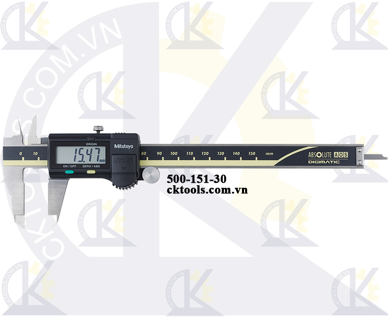 Thước cặp điện tử 0-150mm/0.01mm-500-151-30