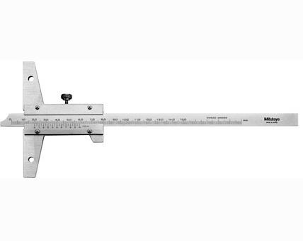 Thước đo sâu cơ khí 0-200mm x 0.02mm