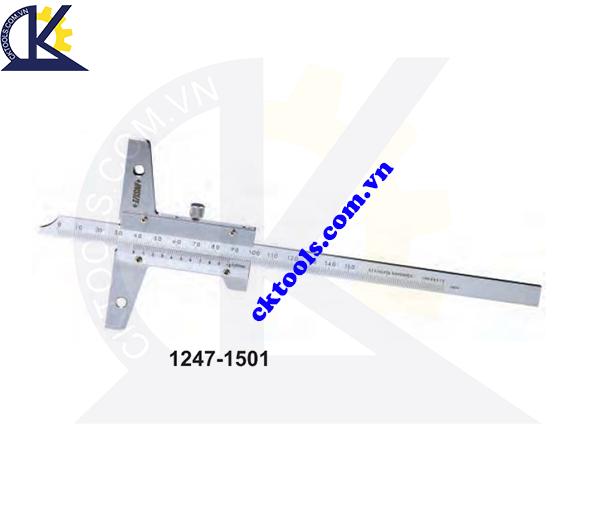 Thước đo sâu cơ khí  INSIZE  1247-1501 ,   VERNIER  DEPTH GAGES    1247-1501