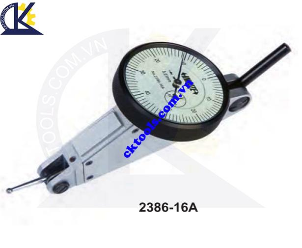 Đồng hồ so chân gập  INSIZE   2386-16A  ,  LARGE RANGE  DIAL  TEST  INDICATOR   2386-16A