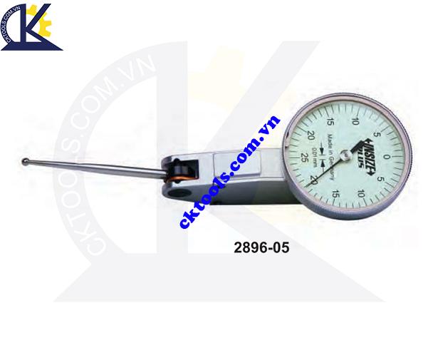 Đồng hồ so chân gập  INSIZE 2896-05  , LONG STYLUS  DIAL TEST  INDICATOR    2896-05