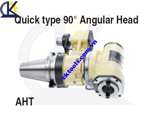 Đầu kẹp dao NIKKEN NBT40-AHT, Holder NIKKEN NBT40-AHT,, QUICK TYPE 90 ANGULAR HEAD NBT40-AHT