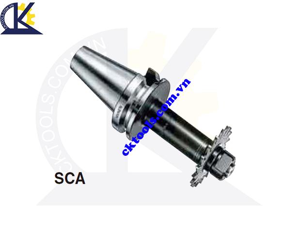 Đầu kẹp dao đĩa NKIKEN NBT30-SCA, Holder NKIKEN NBT30-SCA, STUB ARBOR NBT30-SCA