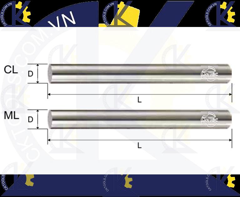 Phôi hợp kim CMTec CL-ML, Hợp kim CL-ML