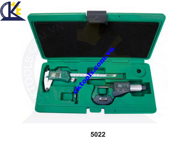 Thước cặp điện tử  INSIZE  5022 , 2-PIECE MEASURING TOOL SET  5022