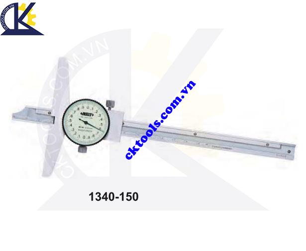 Thước đo sâu cơ khí  INSIZE  1340-150 ,   DIAL  DEPTH GAGES    1340-150