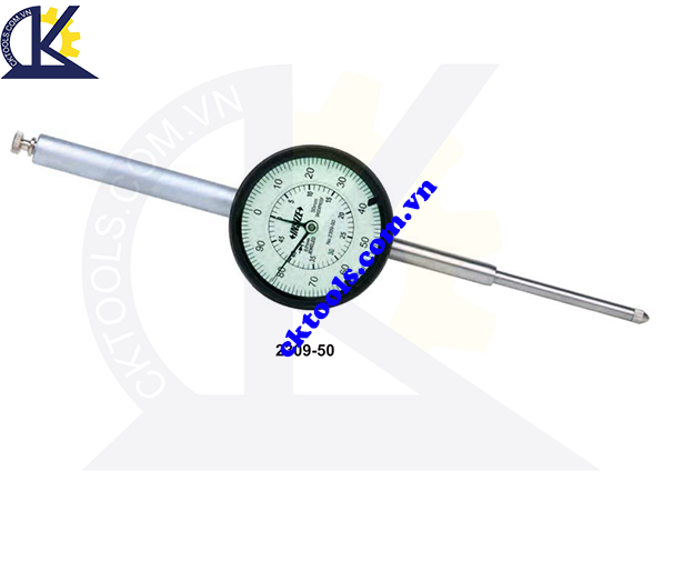 Đồng hồ so  INSIZE   2309-50 ,    DIAL  INDICATORS  ( LONG STROKE )    2309-50