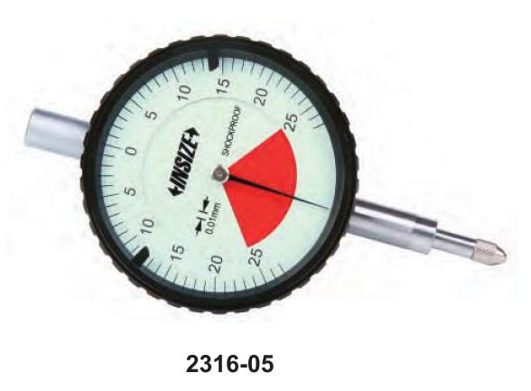 Đồng hồ so  INSIZE   2316-05 ,  ONE REVOLUTION  DIAL  INDICATORS     2316-05