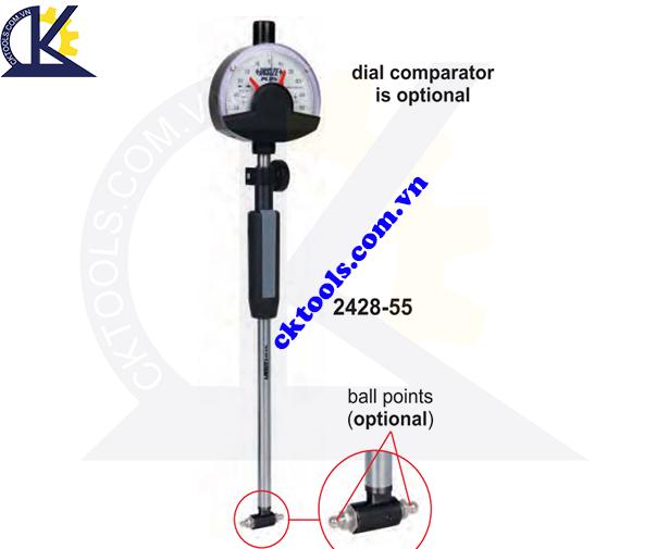 Đồng hồ đo lỗ  INSIZE    2428-55  ,  GEAR BORE GAGES   2428-55