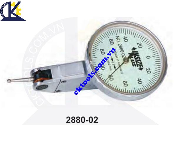 Đồng hồ so chân gập  INSIZE  2880-02 , PRECISION DIAL TEST  INDICATORS    2880-02