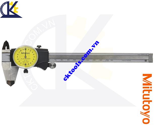Thước cặp đồng hồ Mitutoyo 0-150mm/0.02, Thước cặp cơ khí Mitutoyo 0-150mm/0.02, Thước cặp đồng hồ 0-150mm/0.02mm, Thước Mitutoyo 0-150mm/0.02mm