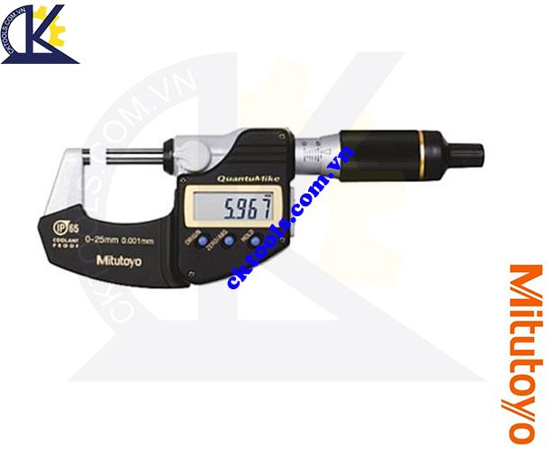 Panme Mitutoyo 0-25mm/0.001mm, Panme đo ngoài Mitutoyo 0-25mm/0.001mm, Panme điện tử Mitutoyo 0-25mm/0.001mm, Panme đo ngoài điện tử Mitutoyo 293-145-30 0-25mm/0.001mm