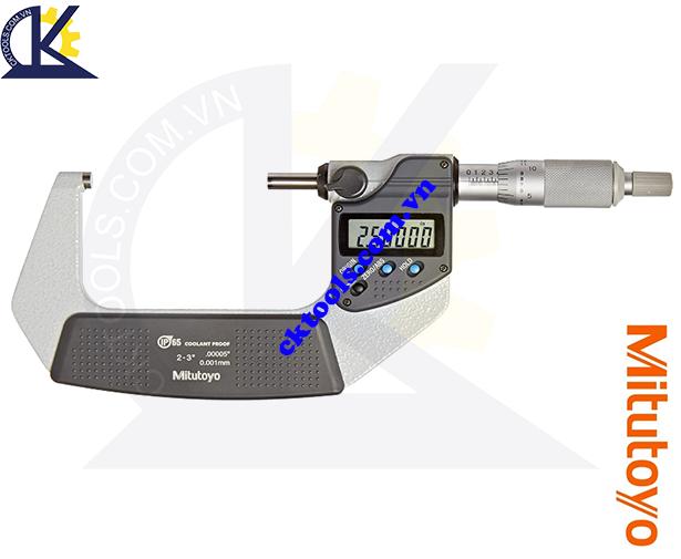 Panme Mitutoyo 2-3'/50-75mm/0.001mm, Panme đo ngoài Mitutoyo 2-3'/50-75mm/0.001mm, Panme điện tử Mitutoyo 2-3'/50-75mm/0.001mm, Panme đo ngoài điện tử Mitutoyo 293-342-30 2-3'/50-75mm/0.001mm