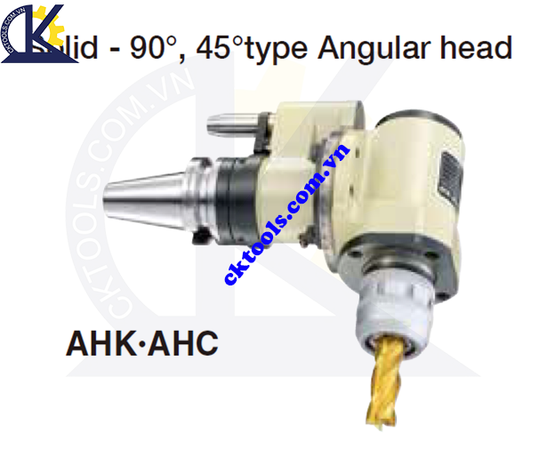 Đầu kẹp dao NIKKEN BT30-AHK.AHC, Holder NIKKEN BT30-AHK.AHC, SOLID-90, 45 TYPE ANGULAR HEAD BT30-AHK.AHC