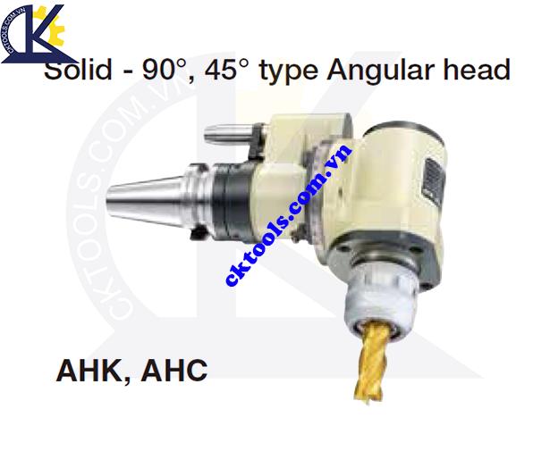 Đầu kẹp dao NIKKEN NBT30-AHK-AHC, Holder NIKKEN NBT30-AHK-AHC, SOLID-90, 45 TYPE ANGULAR HEAD NBT30-AHK-AHC