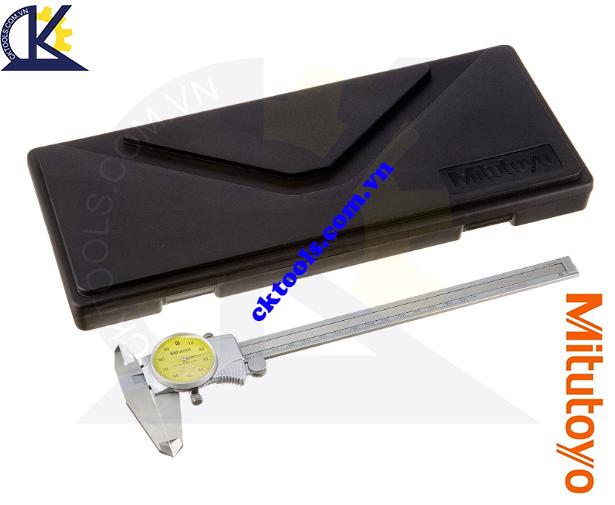 Thước cặp đồng hồ Mitutoyo 0-200mm/0.01mm, Thước cặp cơ khí Mitutoyo 0-200mm/0.01mm, Thước cặp đồng hồ 0-200mm/0.01mm, Thước Mitutoyo 0-200mm/0.01mm