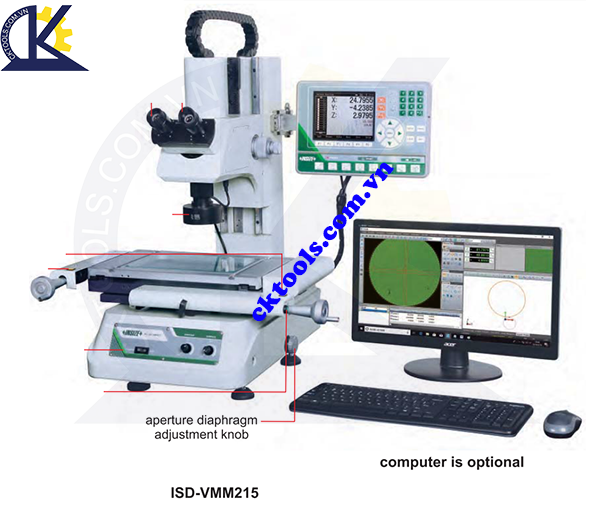 Máy đo CNC  INSIZE  ISD-VMM215  , TOOLMAKER MICROSCOPES    ISD-VMM215