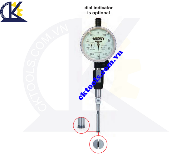 Đồng hồ đo lỗ  INSIZE  2427-N20 , SPLIT TYPE  DIAL BORE GAGES FOR BLIND HOLES   2427-N20